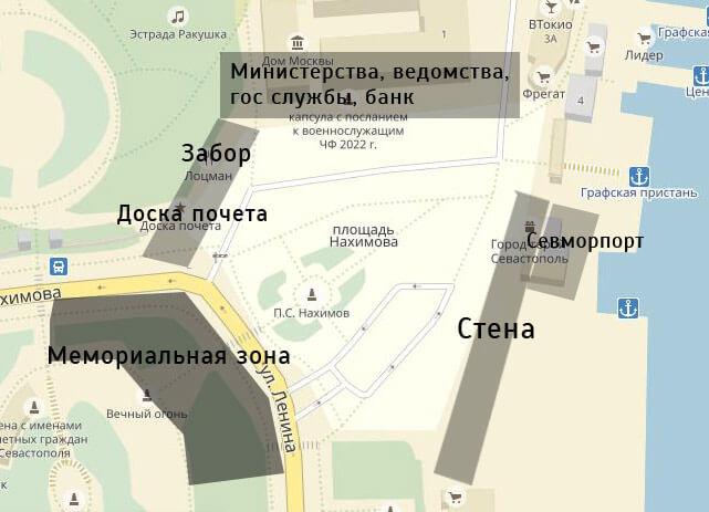 окружение площади Нахимова